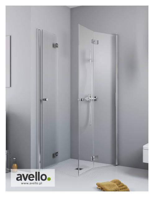 Kabina prysznicowa ze szkłem przejrzystym